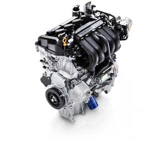 フィット・ハイブリッドのエンジン