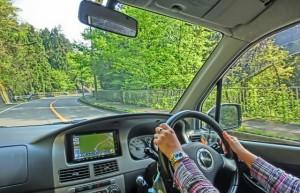 山道の運転