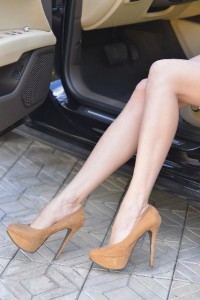 運転席の足元