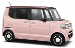 N-BOXツートン・ピンク